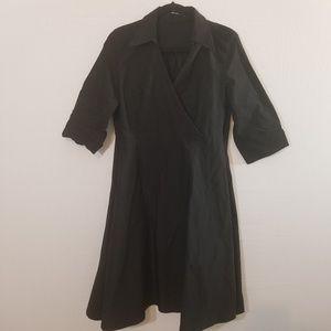 Miusol Black Stretch Rockabilly Dress Size 2XL
